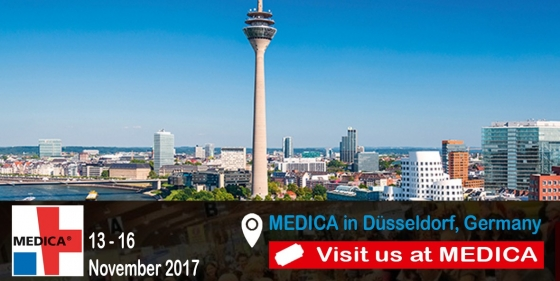 Medica 2017, looking forward to meet you!