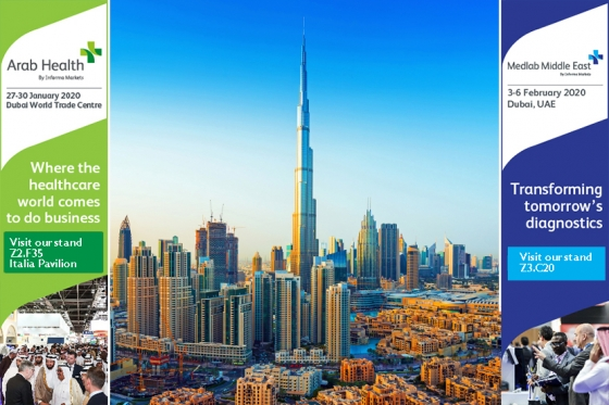 Dubai, this year we double down: ArabHealth and MedLab 2020.