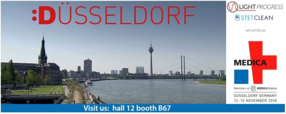 Düsseldorf here we come! MEDICA 2018