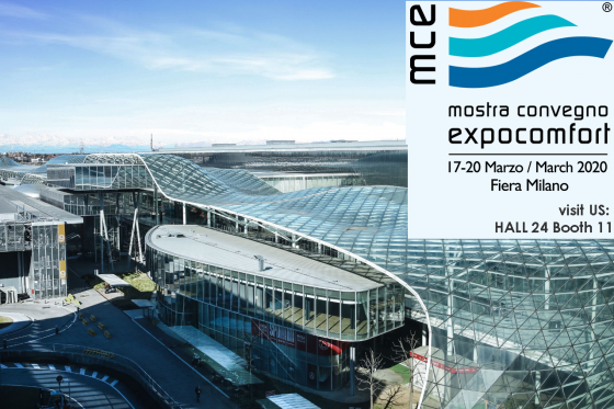 MCE 2020 here we come! Same position as always, booth F11 - H24