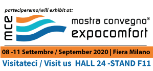 EXPOCOMFORT CONVENTION EXHIBITION postponed from September 8th to 11th, 2020
