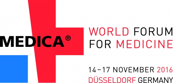 MEDICA - Duesseldorf - November, 14th - 17th 2016