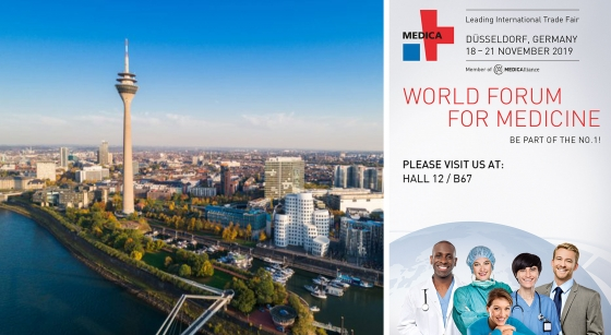 MEDICA-MESSE - DÜSSELDORF, GERMANY. 18/21 NOVEMBER 2019