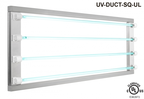 UV-DUCT-SQ  /  UV-DUCT-SQ-UL